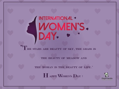 International Women's Day 8th march women banner design banner