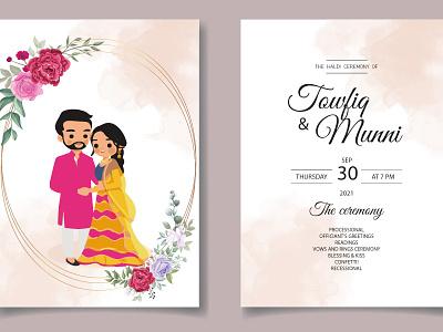 Wedding Card Design wedding wedding card