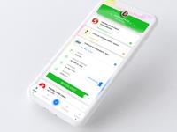 Mobile application for merchandising