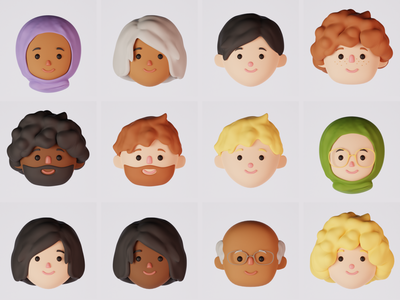 3D Avatars app 3d avatars avatars avatar 3d blender