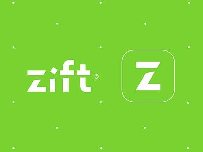 Zift movement branding z type logotype logo