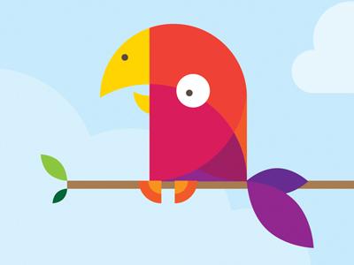 Geo parrot
