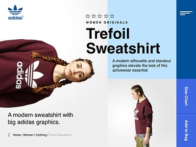 Adidas Originals Trefoil Sweatshirt - Concept 2017 tendence colors geometric brazil adidas home sweatshirt trefoil sweatshirt adidas originals