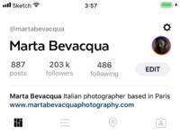 Instagram app concept full 1