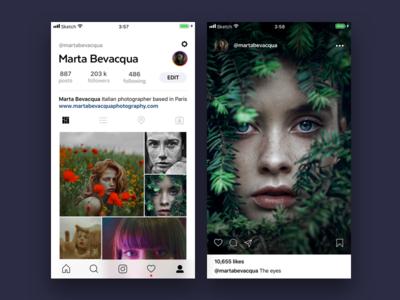 Instagram app concept 📷