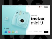 instax by Fujifilm | Daily UI