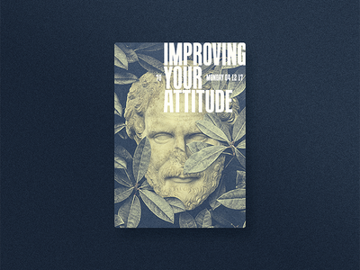 ☝ static eyes☝ #70 • Improving your attitude