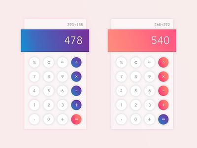 Calculator app Experiment calculator dieter rams ui minimal ios app