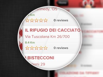 Restaurants List - Goombah ios list ios restaurants ios app food app list app restaurant detail restaurants list item list