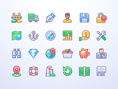 Infinity icons outline filled stroke interface infinity icons icojam design ui illustration icon vector