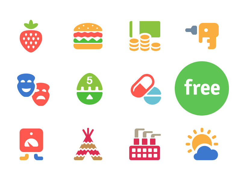 100 Free Cosmo Color icons free freebie cosmo vector flat icojam icons