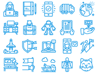 Unigrid new icons update