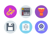 JetFlat icons update