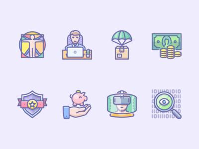 Random icons
