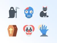 41 Halloween free icons