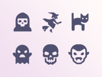 More Halloween icons