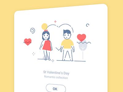 Zephyr illustrations laptop wizard cloud calendar valentines day love valentine avant-garde memphis light icojam illustration icon vector