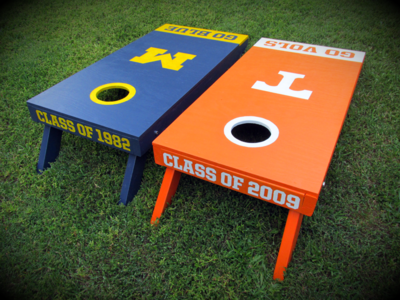 House Burry Cornhole Boards