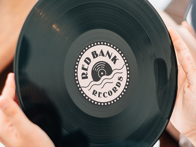 Red Bank Records music label vinyl records new jersey bank red