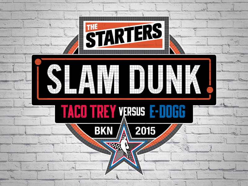 The Starters Slam Dunk 2015 Logotype nbatv the starters slam dunk nba