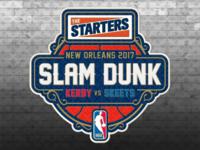 The Starters Slam Dunk 2017 Logotype
