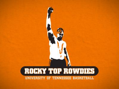 Rocky Top Rowdies rowdies orange body paint pearl rocky top volunteers basketball tennessee