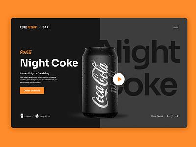 Coca-cola Design Concept 🥤 cold drink logo design branding
