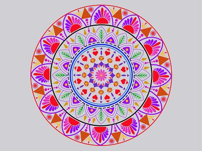Mandala mandala art graphic design illustrator web vector illustration design