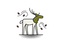 E is for elk.