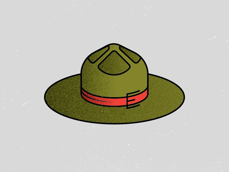 H is for hat.