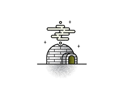 I is for igloo.