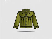 J is for jean jacket.
