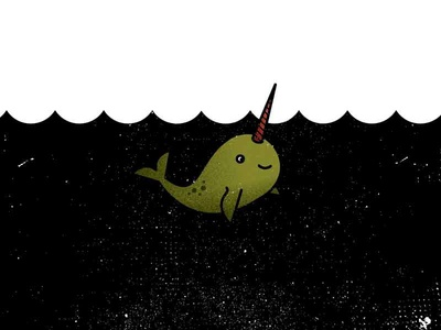 N is for narwhal.
