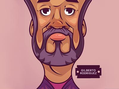 Narcos. Rodriguez artist artwork vector illustration design vector mascot design illustraion digitalart characterdesign character