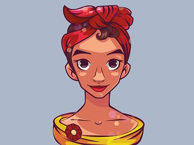 Espanol. brushin with love artist artwork vector illustration design vector mascot design illustraion digitalart characterdesign character