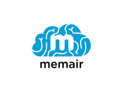 memair logo branding illustration vector logo
