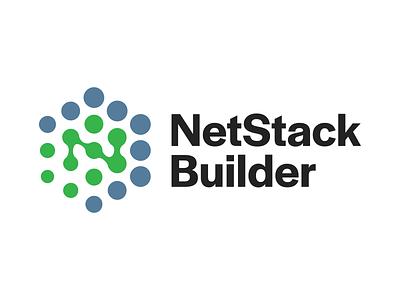 NetStack Builder Logo vector branding logo