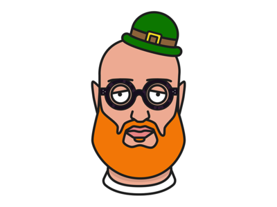 Happy St. Patrick's Day! character st patricks day leprechaun doodle vector