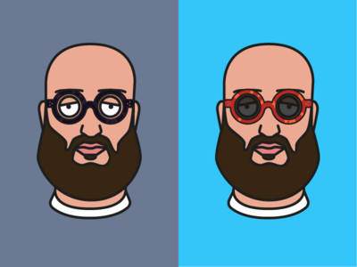 New Shades sunglasses vector