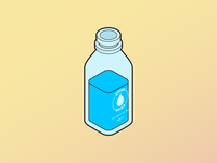 Isometric Water Jug