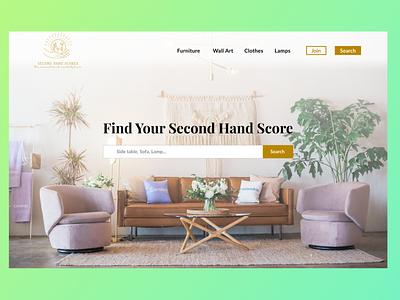 Second Hand Store Web Design web design