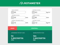 Rotameter App - Freebie