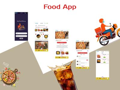 Food Delivery App app design ui ux design