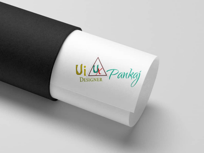 My Logo Mockup Design logo design ui ux design