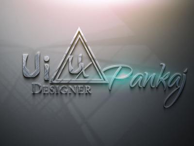 Logo Mockup ui ux design