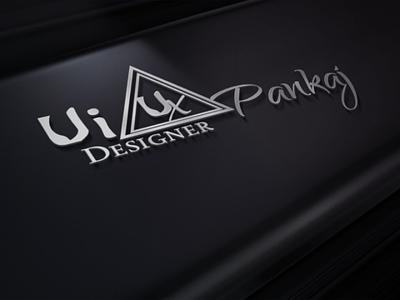 Logo Design Black Mockup ui ux design
