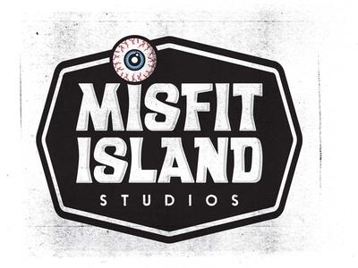 Misfit Island Studios - Logo Design dan brandon logo design misfit island misfit branding art direction logo