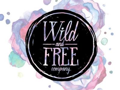 WILD & FREE CO. - LOGO DESIGN branding logo design design free wild