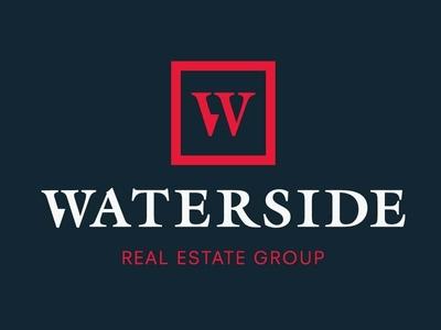 WATERSIDE REAL ESTATE GROUP - BRANDING dan brandon logo design branding art direction logo