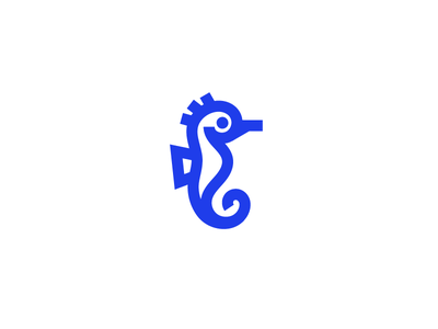sea horse icon nautical icon sea horse